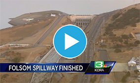 Folsom Dam spillway finally opens after 9 years